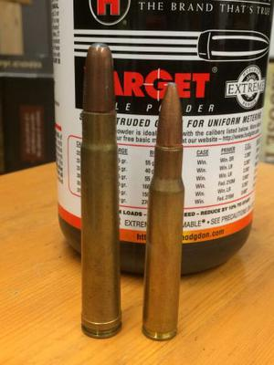 Winchester .375 H&H compared to a Winchester .3006