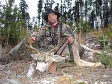 Mike from Big Country Outfitters and his mule deer