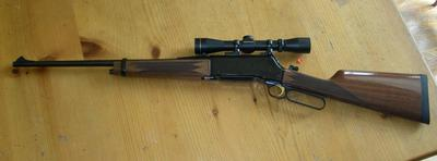 Browning BLR _ <br/>Photo from http://en.wikipedia.org/wiki/Browning_BLR
