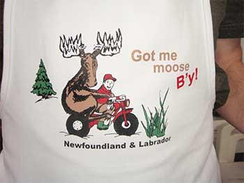 Got me moose B'y!