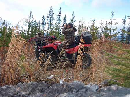 ATV Moose Hunting