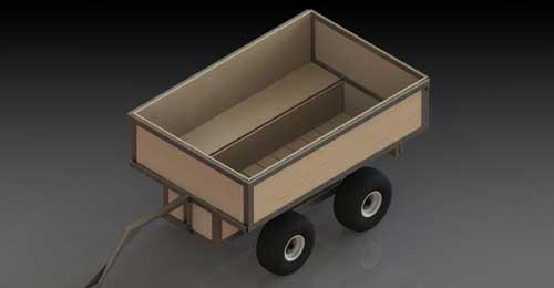 ATV Tub Trailer Plans