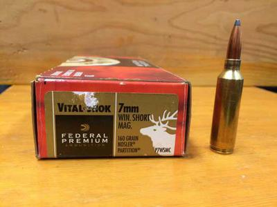 7mm WSM 160 grain or 130 grain