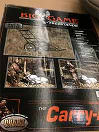 Big Game Treestands - Carry all game cart