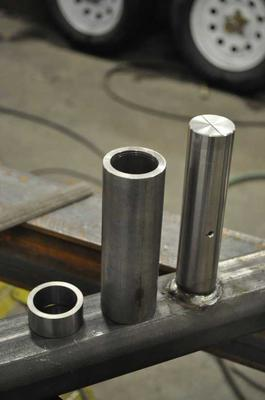 DOM Tube and C1045 Axle Pin