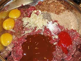 Moose Hamburger Mince Mixture