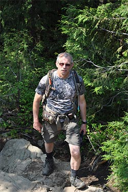 hiking fitness - staying in shape