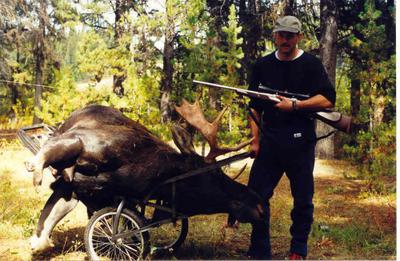 Pictured: Sako 270 Moose Hunting Rifle