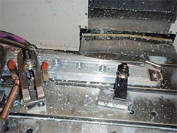 meat-hook hole drilling