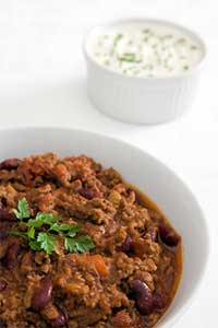 Moose Meat Chilli
