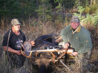 Moose Hunt Success