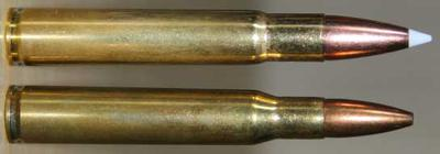 .35 Whelen beside .30-06 Springfield