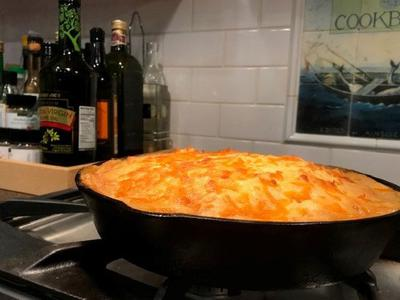 Moose meat shepherds pie smells super delicious while cooking!