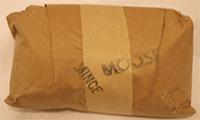 Moose hamburger meat