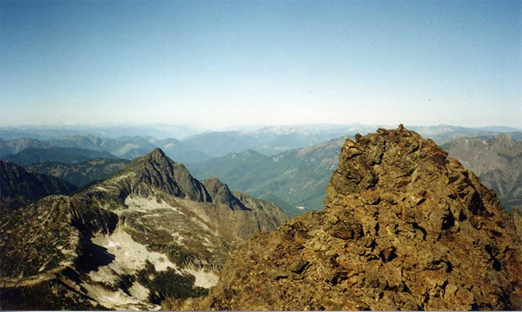 Mount Outram Summit