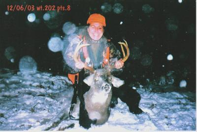 My biggest buck ever:-)
