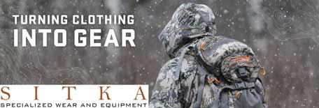 Sitka Gear - Turning clothing into gear