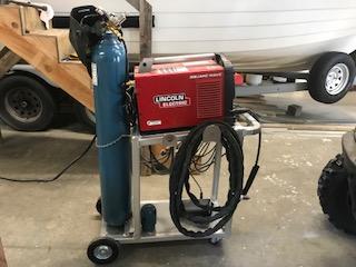 Aluminum Tig Welder Cart