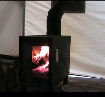 Wall Tent Wood Stove