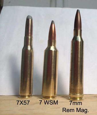 Compare 7X57 vs 7WSM vs 7mm Remington Mag