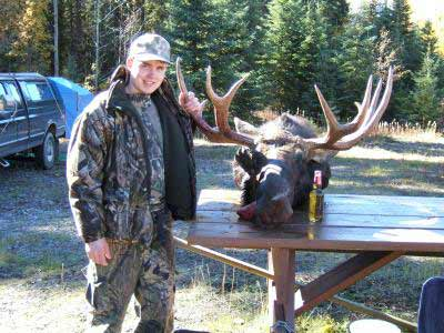 Burns Lake Moose