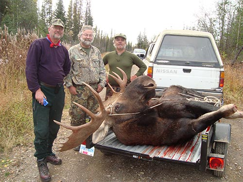 Fred's Big 50 Inch Moose