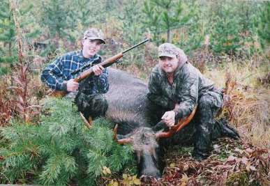 Moose Hunting Burns Lake