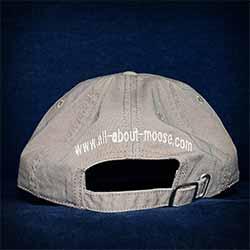 Rear of cap