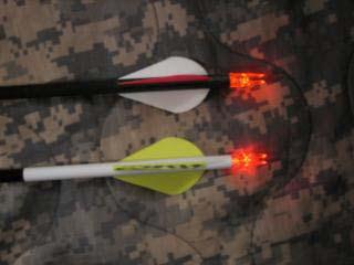 Homemade Lighted Arrow Nocks