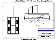 Atv Trailer Plans For A Walking Beam Atv Tub Trailer