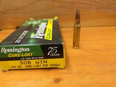 308 Winchester Cartridge 150 gr