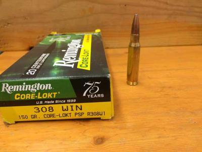 308 Winchester Cartridge 150 gr