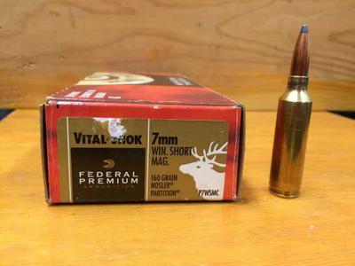 7mm WSM 160 grain or 130 grain
