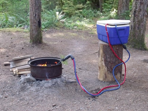 cub camper setup instructions