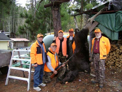 2011 Moose Hunt with Friends