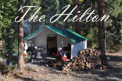 The Hilton at Moose Camp