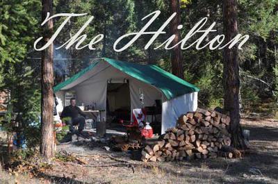 The Hilton at Moose Camp