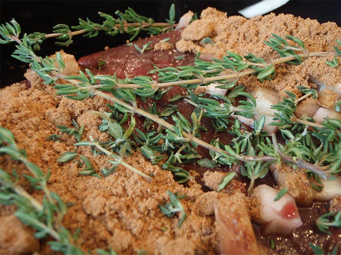 Moose Roast with Thyme