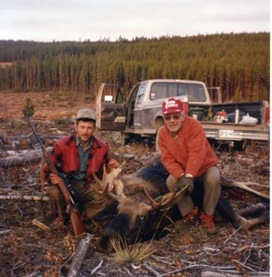 My First Bull Moose