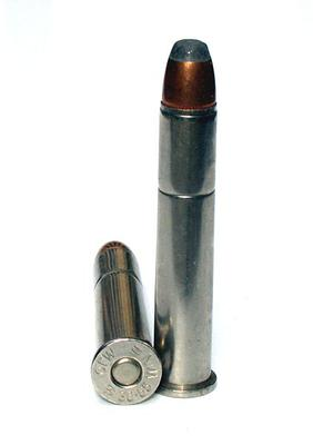 The 38-55 Winchester Cartridge <br/>(Wikipedia Image Copyright Free)