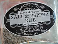 Salt & Pepper Rub