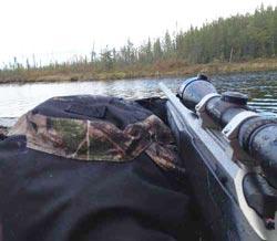 Shooting Moose Across Water