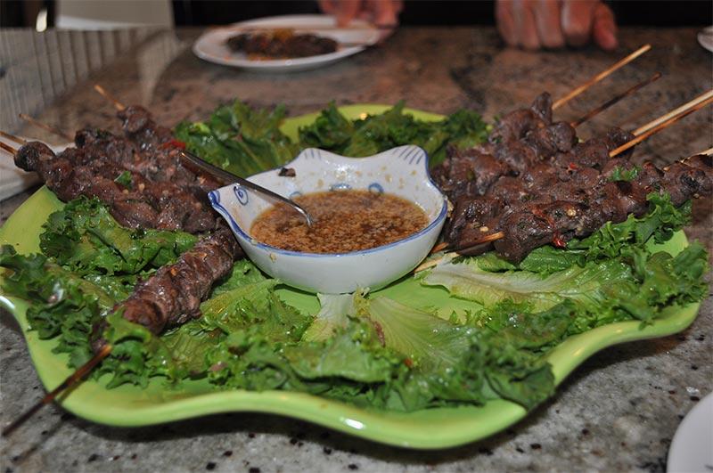 Moose Satay Vietnamese Style